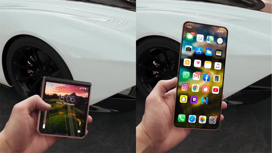 Складной iPhone на подходе? Apple скупила гибкие дисплеи у Samsung