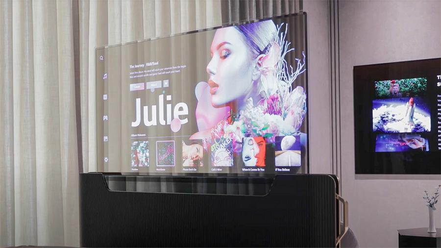 LG представила на CES 2021 концепты телевизоров будущего