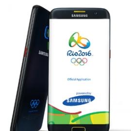 Samsung выпустили «олимпийскую» версию Galaxy S7 edge